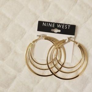Nine West gold Earrings